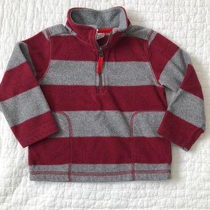Carters half zip fleece pullover, 24 months
